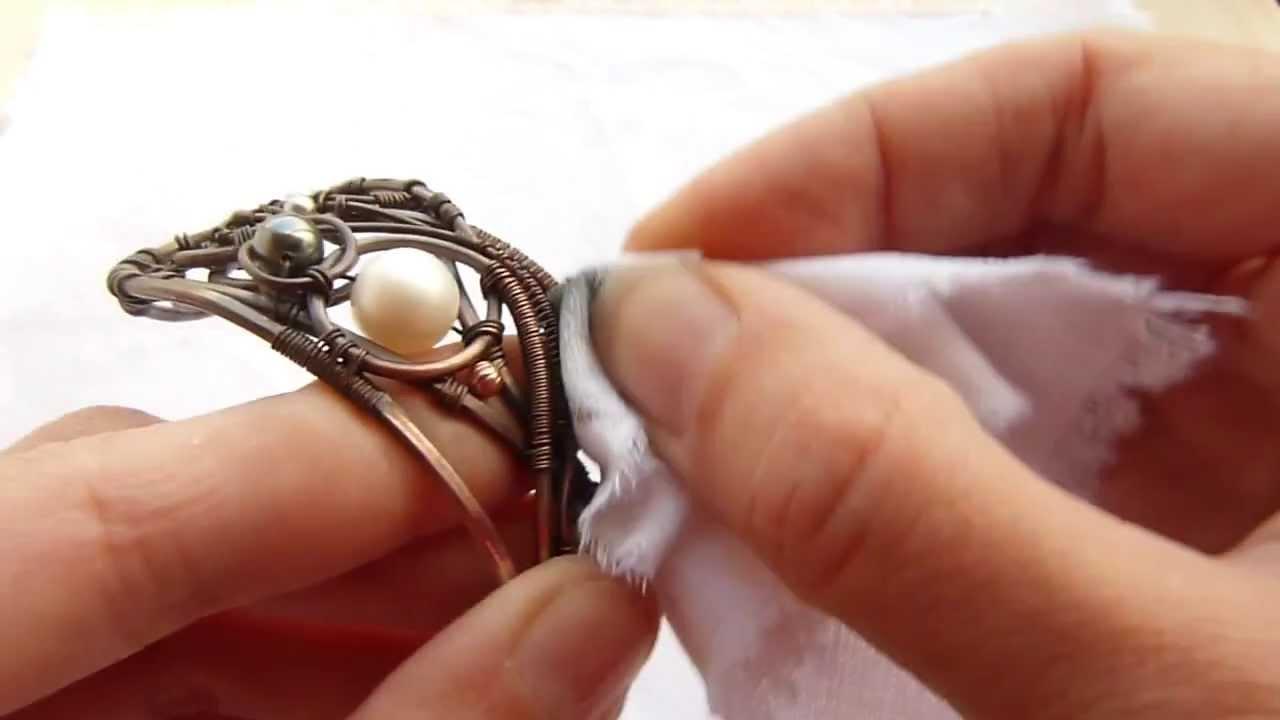 Wire wrap tutorial polishing youtube baditri Images
