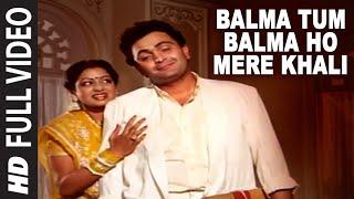 'Balma Tum Balma Ho Mere Khali' Full VIDEO Song - Nagina   Rishi Kapoor, Sridevi