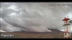 Transmisión del Volcán Popocatepetl 29 de Mayo 2020