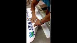 Инструкция по сборке стенда Roll up 100x200 см(Типография «Sprinter» осуществляет поставки мобильных стендов Roll Up по всей России http://7156434.ru/roll-up/, 2014-07-16T13:21:09.000Z)