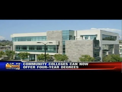 KUSI News - Community Colleges Can Now Offer Four-Year Degrees