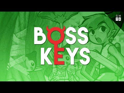 The Legend of Zelda: The Minish Cap's dungeon design   Boss Keys