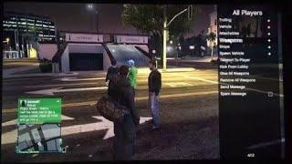 GTA Online PS4 Modder! Online Modding Confirmed? Video Break down