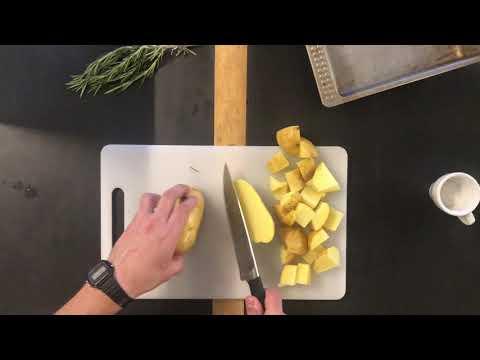 Como Hacer Patatas Horneadas