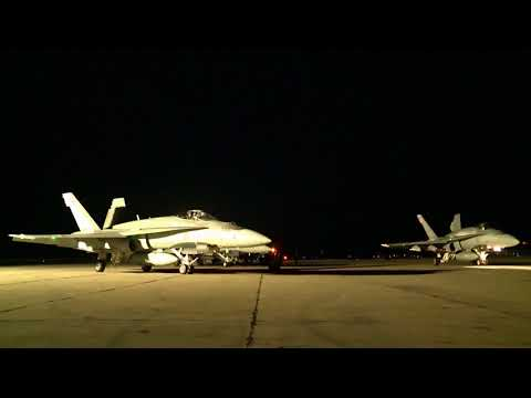 (RCAF) CF-188 Hornets in Romania