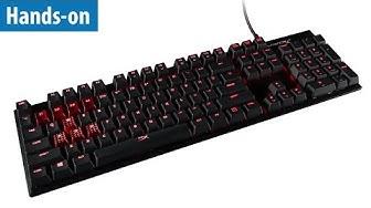 Gaming-Tastatur HyperX Alloy FPS im Hands-on | deutsch / german