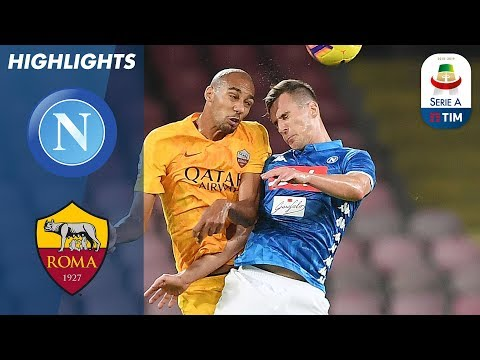 Napoli 1-1 Roma | Dries Mertens Scores Equaliser in Stoppage Time! | Serie A
