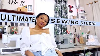Turn Your Living Room into the ULTIMATE Sewing Studio!