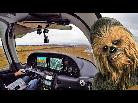 IFR approaches in a SR-22 and a Wookiee on the radio (ATC Audio)