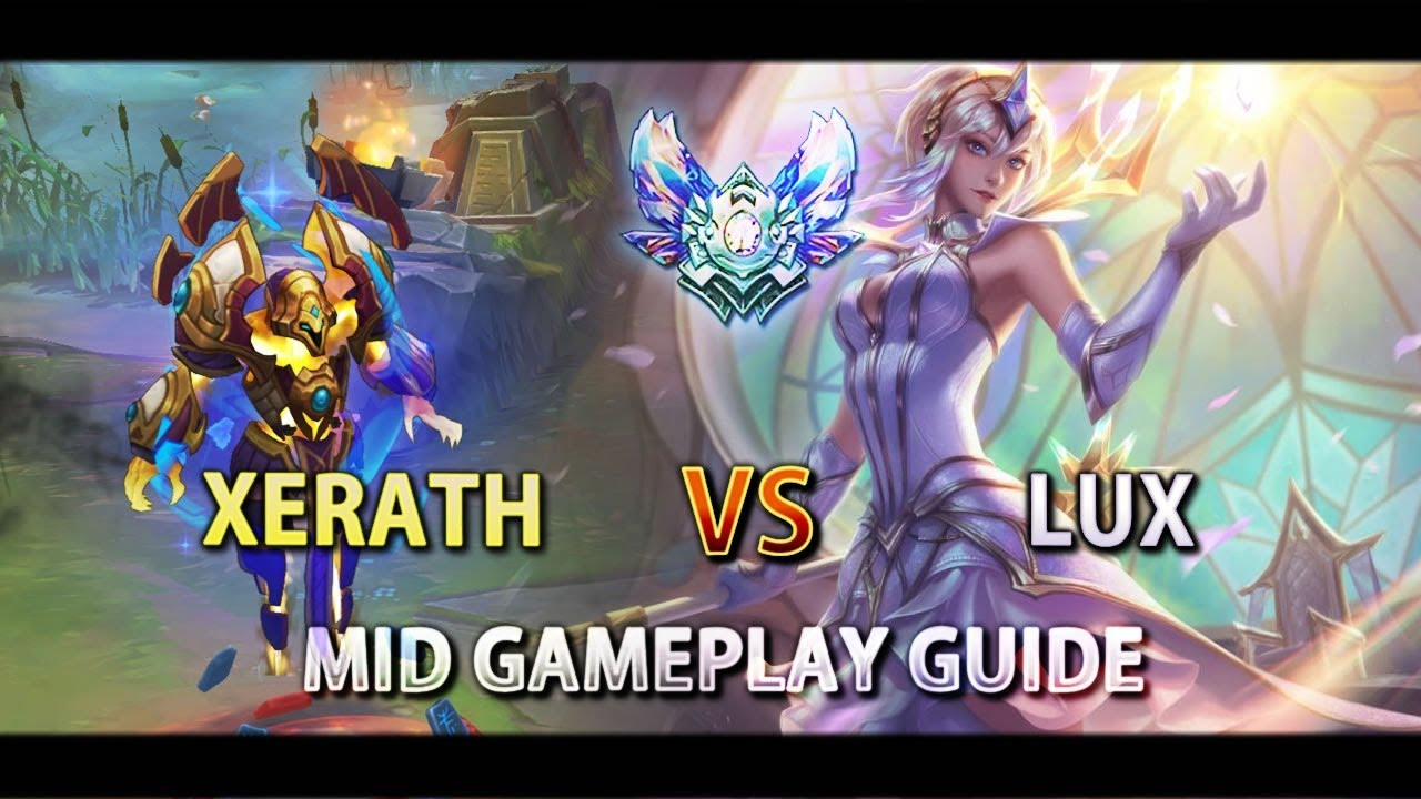 Lol Xerath Mid Gameplay How To Play Against Lux Youtube