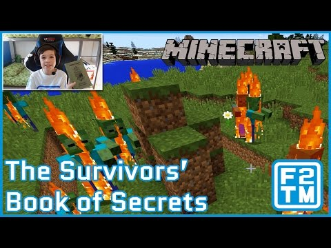 Minecraft - The Survivors' Book of Secrets (REVIEW + TRYING TIPS OUT!!!)