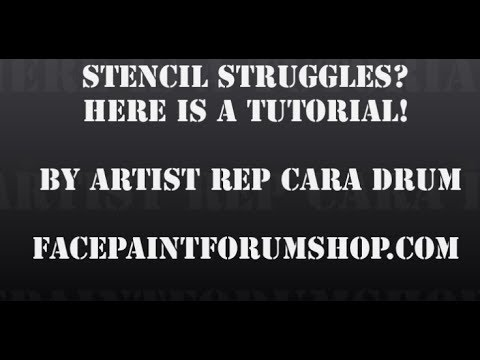 how to use cake stencils youtube