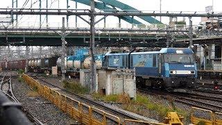 2019/10/29 JR貨物 2092レ EH200-22 大宮駅 | JR Freight: Cargo by EH200-22 at Omiya