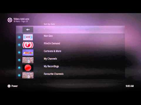 TVgadget how watch UK freeview with FTV addon aka Filmon