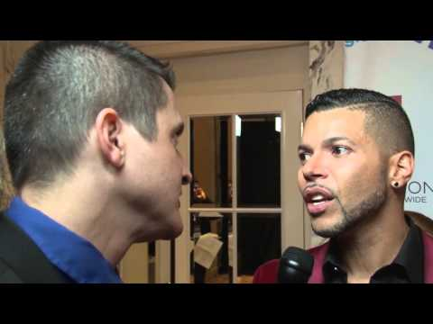 ORC: Damon Jacobs pays tribute to Wilson Cruz on GLAAD-NY Red Carpet!