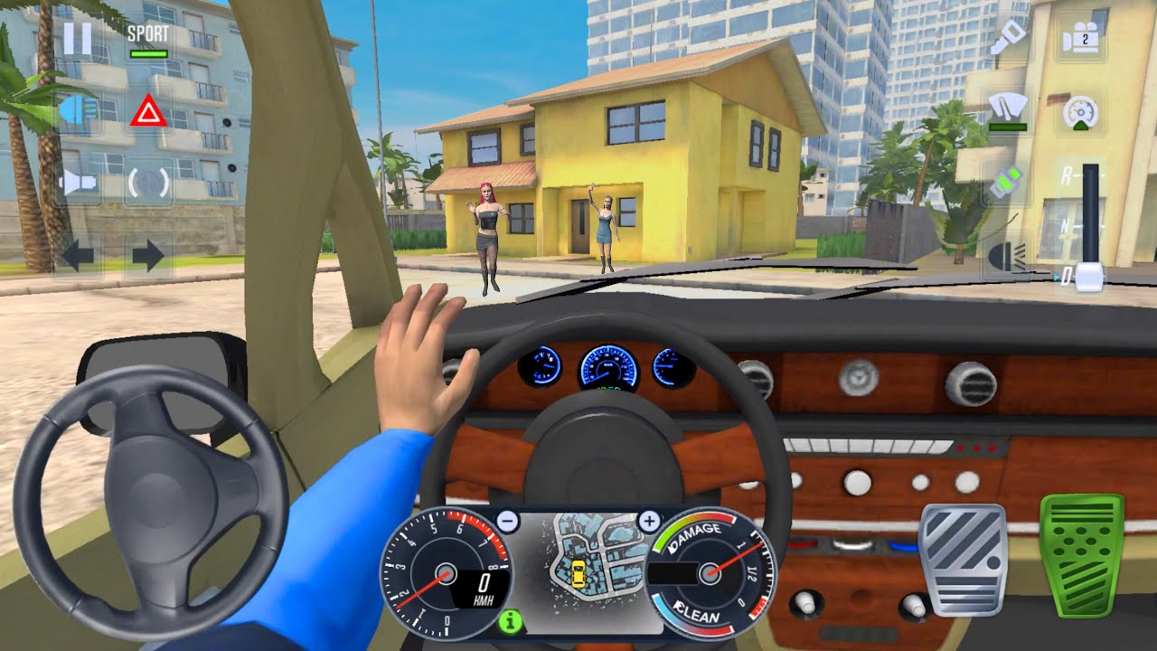 City Taxi Private Driver 🚖🔥 Car Games Android 3D City Drive - Taxi Sim 2020