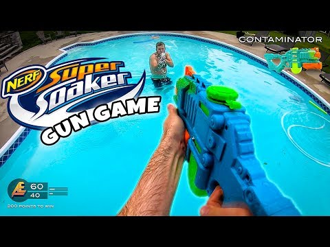 NERF GUN GAME | SUPER SOAKER EDITION (Nerf First Person Shooter)