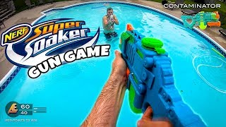 NERF GUN GAME  SUPER SOAKER ED T ON Nerf First Person Shooter