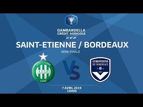 Coupe Gambardella-CA I Demi-finale - ASSE / Bordeaux