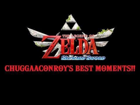 The Legend of Zelda Skyward Sword Chuggaaconroy's Best Moments (Over an hour and 30 mins!)
