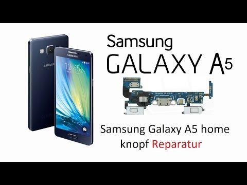 samsung galaxy a5 home button repair - YouTube