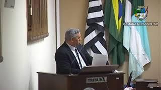 24ª Sessão Ordinária - Presidente Marcão Alves