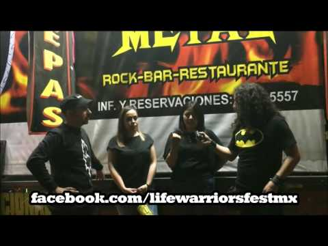 Entrevista a Nalle y Cruz @LifeWarriorsfest |Metal Corrosivo
