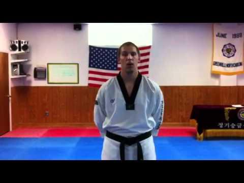 King tiger tae kwon do intro to white belt poomsae Kwon Sool
