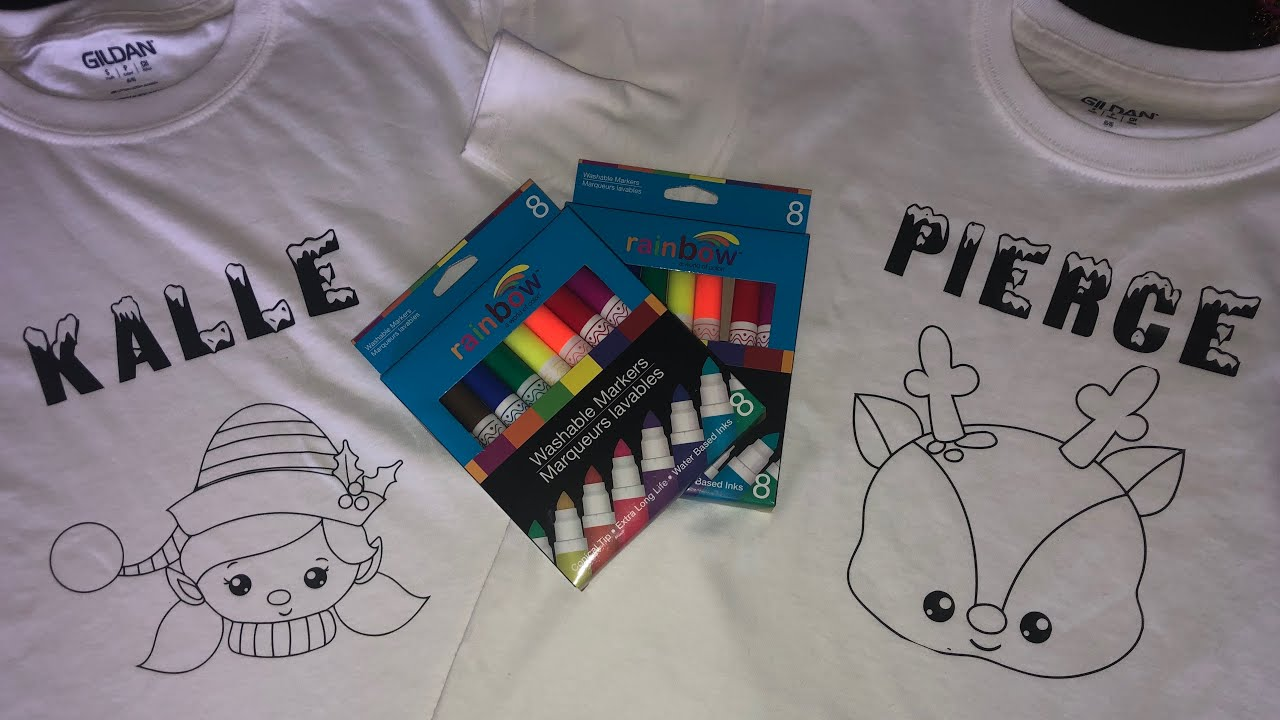 Coloring Book T-shirt | Make it with Cricut | Tam\'s Sweet Life