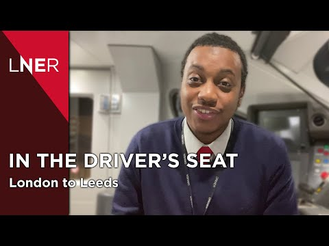 The Train Drivers view - London to Leeds with LNER