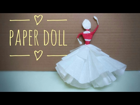 How to Make Paper Doll | DIY Craft