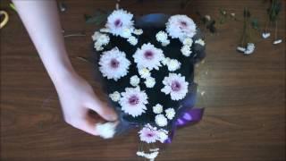 Как сделать сердце из цветов
