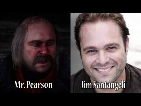 Red Dead Redemption 2 - Characters and Voice Actors