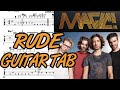 Learn How to Play Rude Fingerstyle Acoustic Guitar Lesson TABS Magic