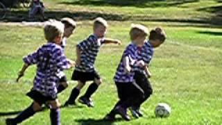 mark s first u6 soccer game
