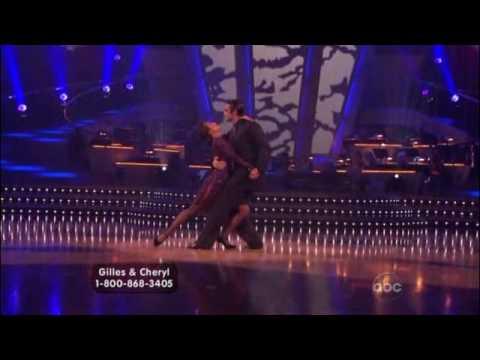 DWTS Gilles Marini & Cheryl Burke Argentine Tango Week 4