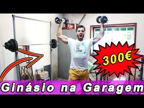 O MEU GINÁSIO DE 300 EM CASA- Tudo Que Precisas!