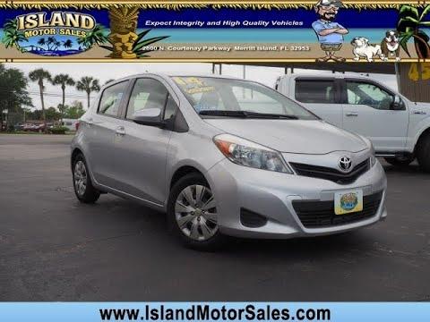 Toyota Merritt Island >> 2014 Toyota Yaris 5dr Liftback Auto L Tmc Cbu Plant Merritt Island Florida