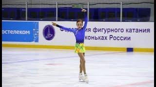 Анастасия Зинина, ПП, Мемориал Волкова 2018, старшие, 2018-11-10