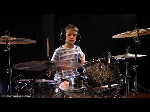 Wright Drum School - Sebastian Malovec - Red Hot Chili Peppers - Dani California - Drum Cover