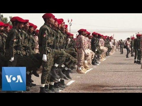 Missile Strikes Military Parade in Yemen's Aden