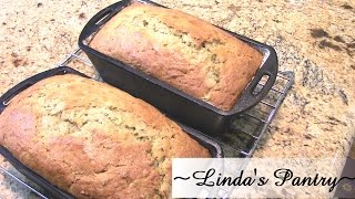 ~rhubarb Zucchini Bread With Linda's Pantry~