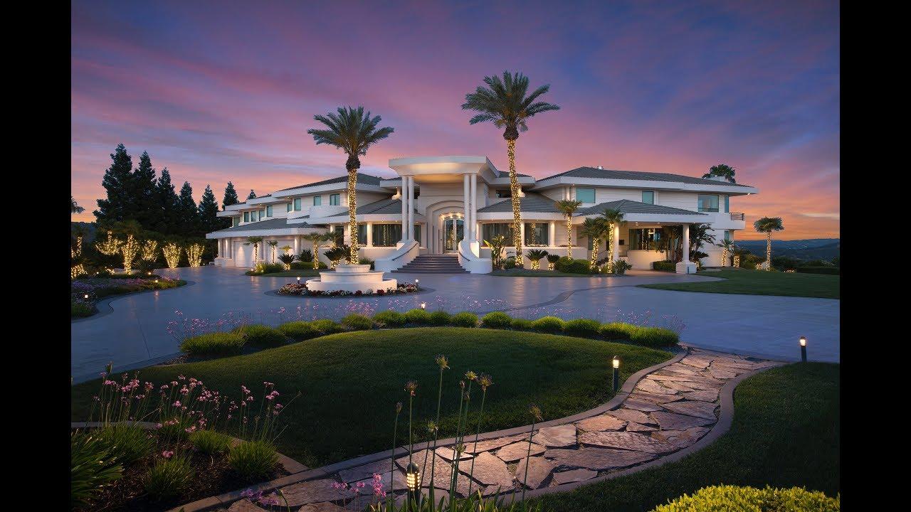 Magnificent Estate In Granite Bay Ca Youtube