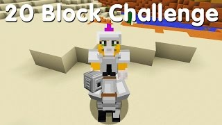 Minecraft PS4 - 20 Block Challenge - Dispense With This (29)