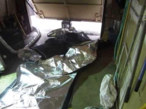 Virtual Sun Hydroponics 4x4x7 tent setup. & Virtual Sun Hydroponics 4x4x7 tent setup. - YouTube