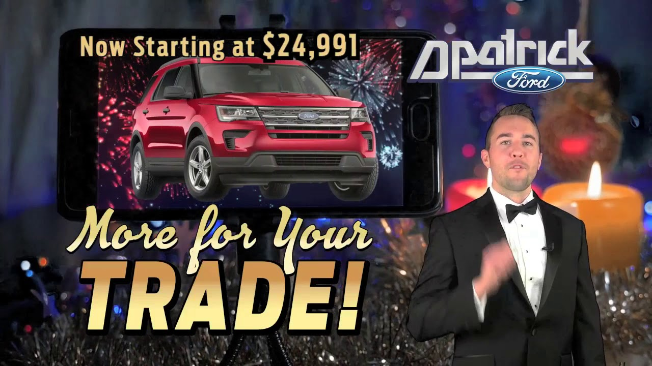 D Patrick Downtown Ford Explorer New Ride Jan Tv Commercial