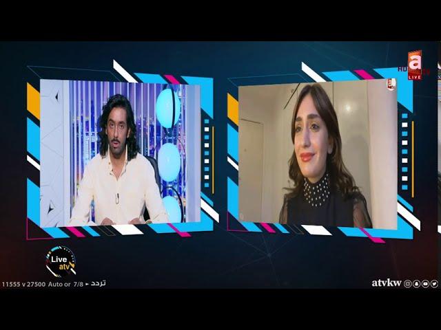 atv live   أنا من الملجأ واريد اتعرف على أمي💔 - لقاء مؤثر مع الفنانة اشكي ناز مع صالح الراشد