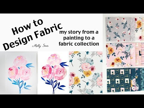 How to Design Fabric - Surface Pattern Design