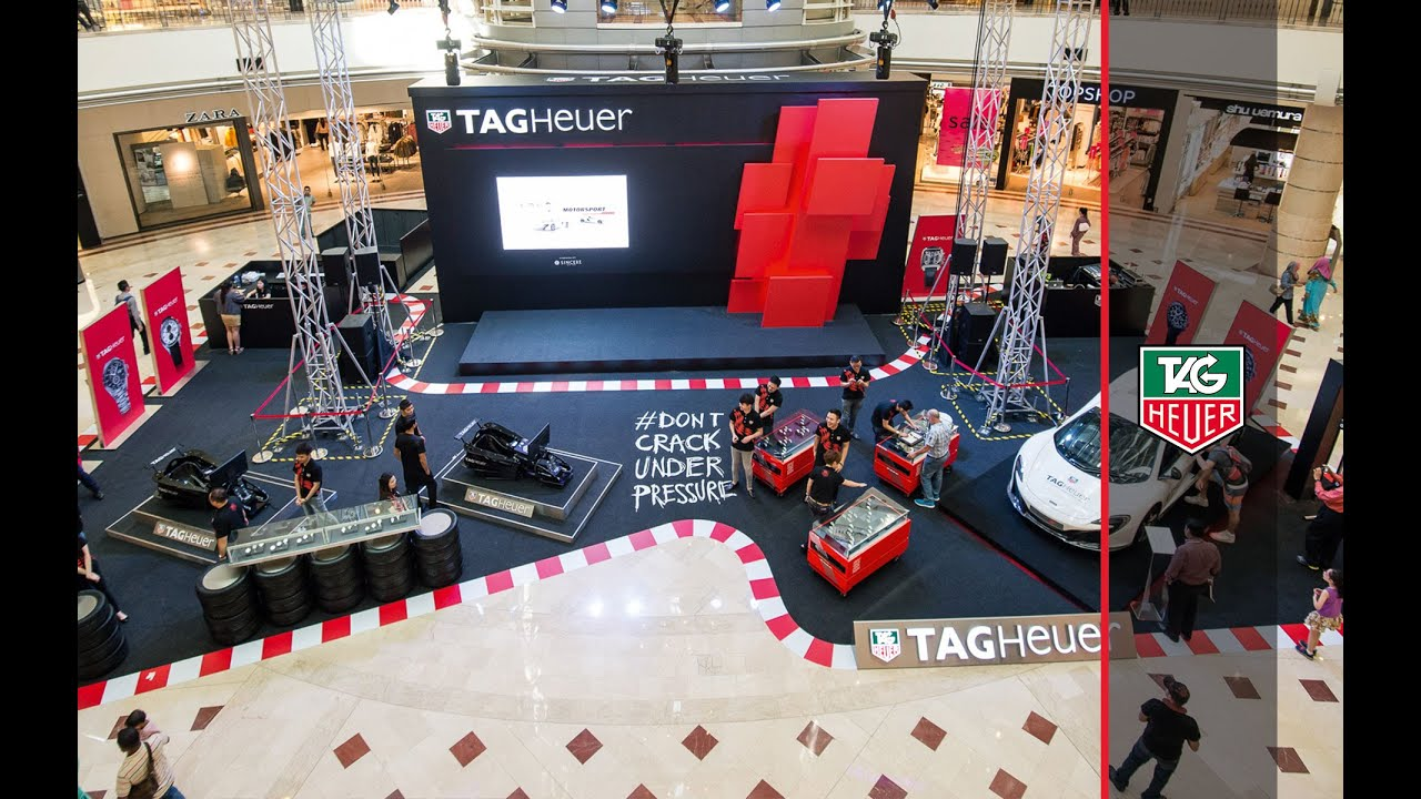 tag heuer motor racing exhibition in malaysia youtube. Black Bedroom Furniture Sets. Home Design Ideas