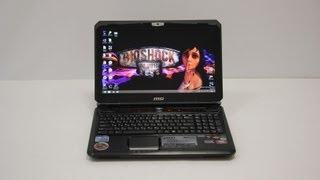 Видео обзор ноутбука MSI GX60